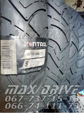 Купить покрышку на мотоцикл гладкая Kontrol 120/80-17 UN-458 TL