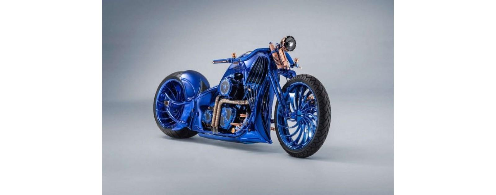 Cамый дорогой кастомный мотоцикл в мире от Harley-Davidson