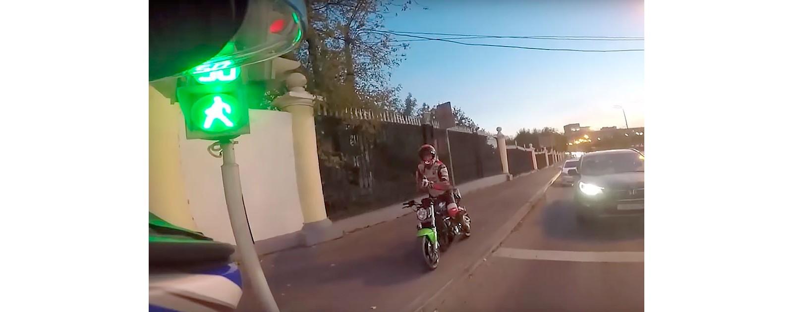 Очередные идиоты на дорогах