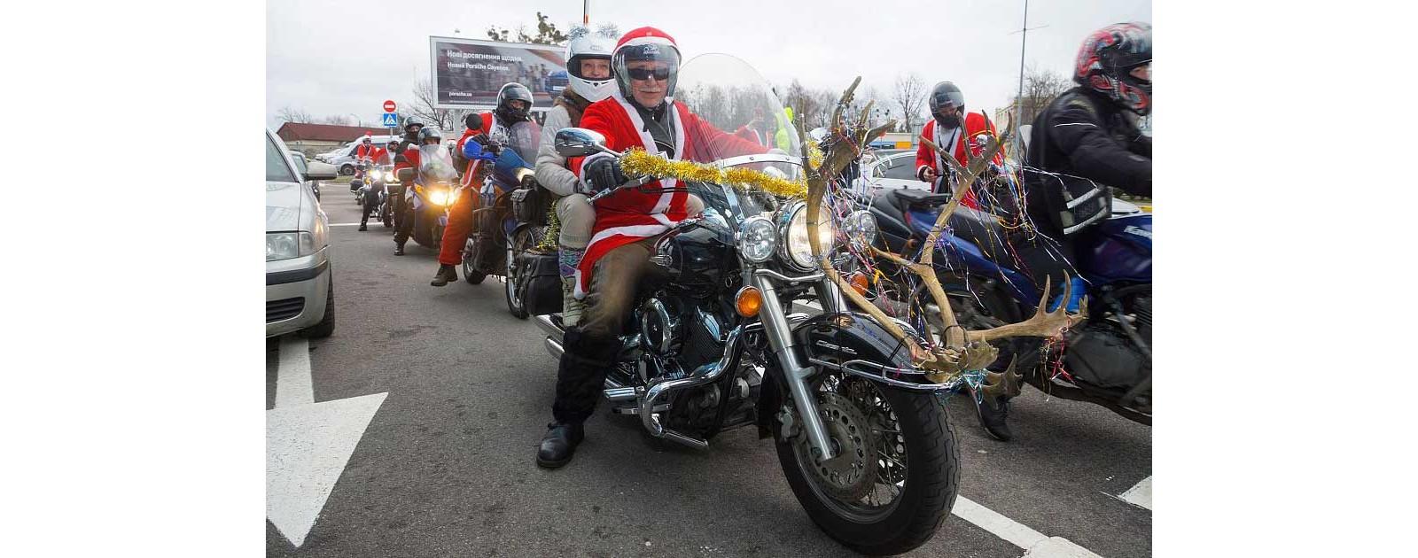 Новый год у Киевских байкеров